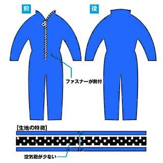 ダイビングウェツトスーツ