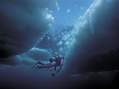 アイスダイビング
