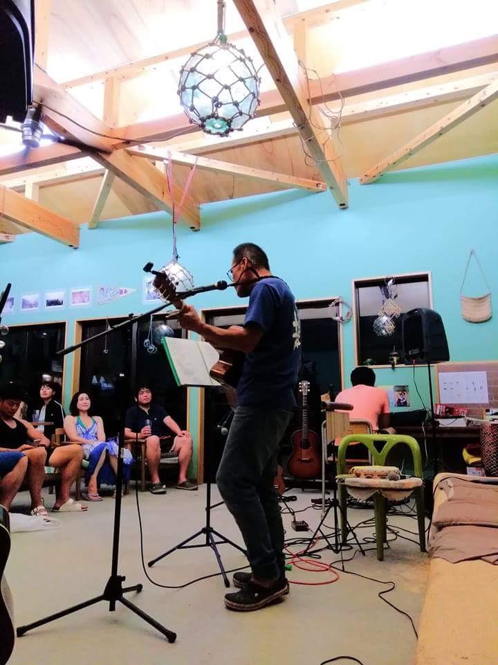 カフェ そそどにての粟島音楽祭